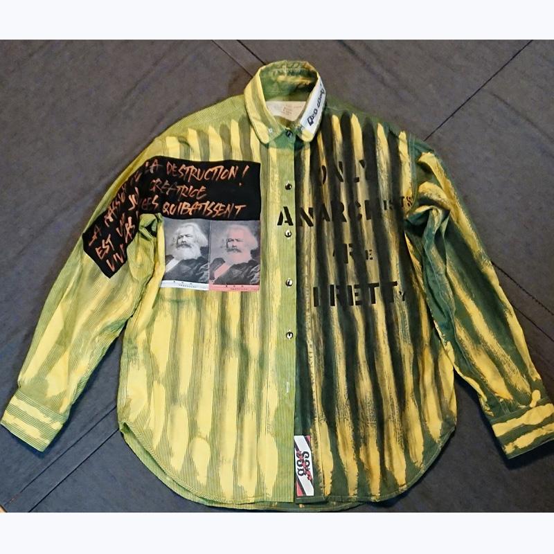 SSB限定アナーキーシャツ(NAOKI(SA) x D.R.P x BLACK MARKET)