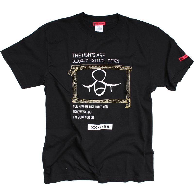 DON'T NEVER LEAVE ME Tシャツ(DEATHBEAR LIVE ON MUZIK )