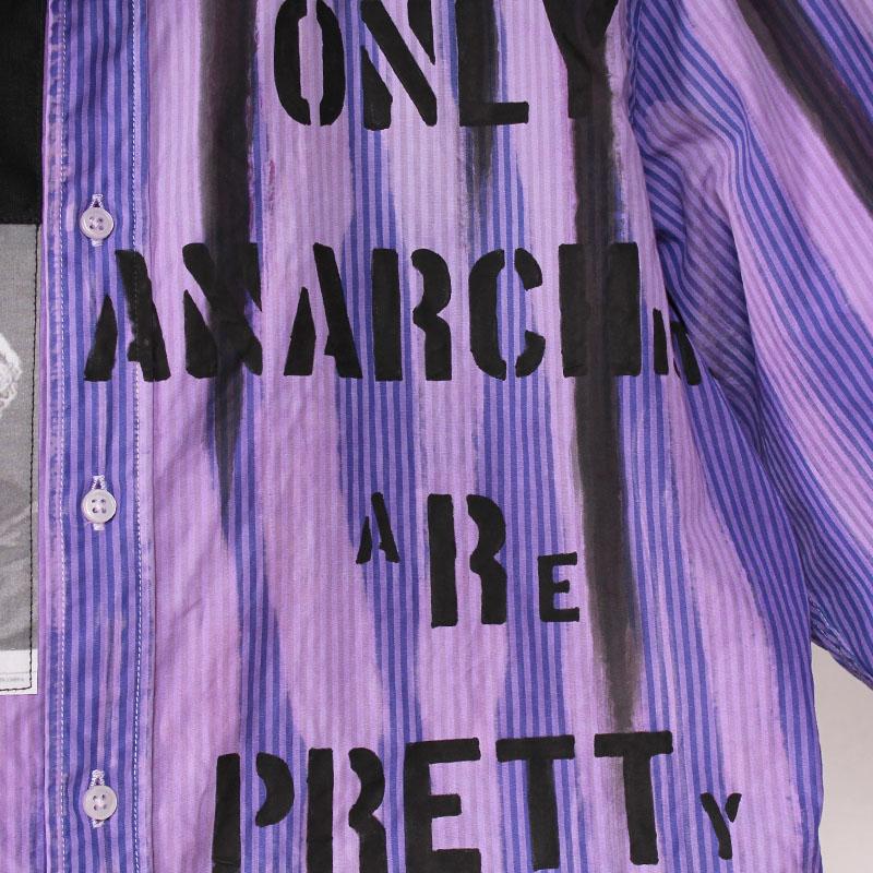 アナーキーシャツ(BLUE BLACK)