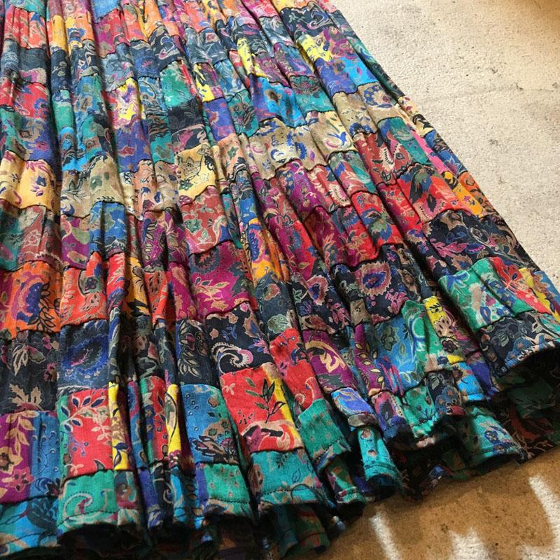 Gradation Tiered Skirt(USED)