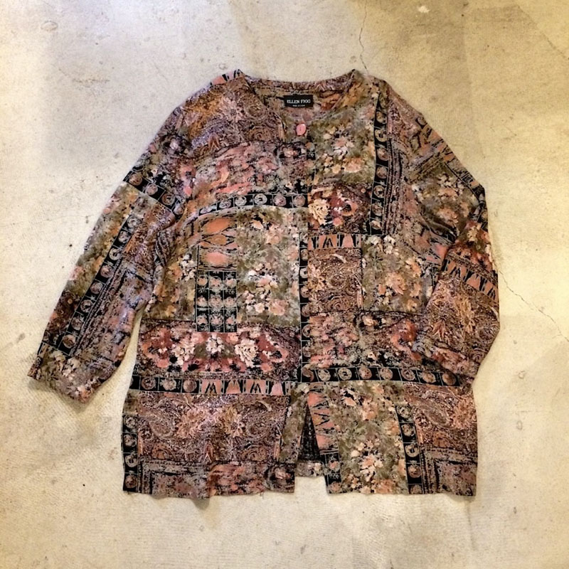 petterend no-collar shirt(USED)
