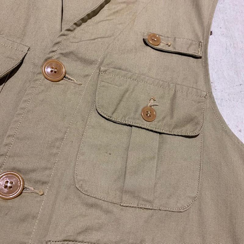 1940's L.L.Bean Fishing Vest(USED)